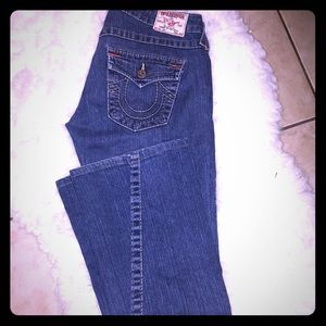 True Religion 'Joey' flare Jeans Made in t…
